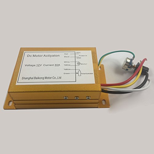 12v 30a 300w Dc Motor Speed   Control PWM HHO RC-Controller Max. 300w