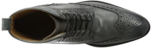 Cinque Russo-04, Brogues Homme Grau (Anthracite)