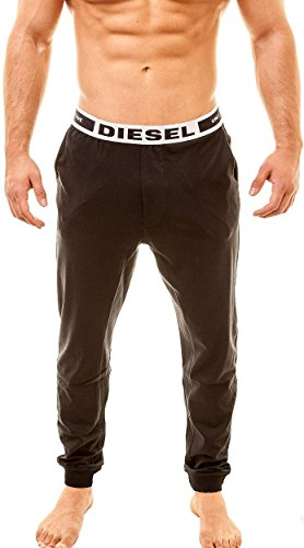 Diesel Uomo Pantaloni Pigiami Julio Only The Brave, nero