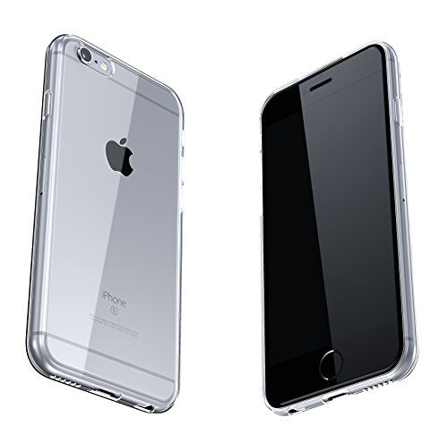 Coque iPhone 6 / 6s, SDTEK iPhone 6 / 6s Housse [TRANSPARENTE GEL] Silicone Case Cover Crystal Clair Soft Gel TPU pour iPhone 6 / 6s Clair