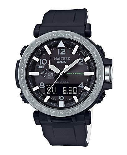 Casio Hommes Analogique-Digital Energie Solaire Montre avec Bracelet en Plastique PRG-650-1ER