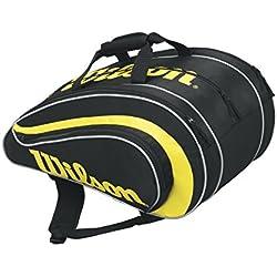 Wilson Rak Pak BKYE - Bolsa, color negro / amarillo, talla única