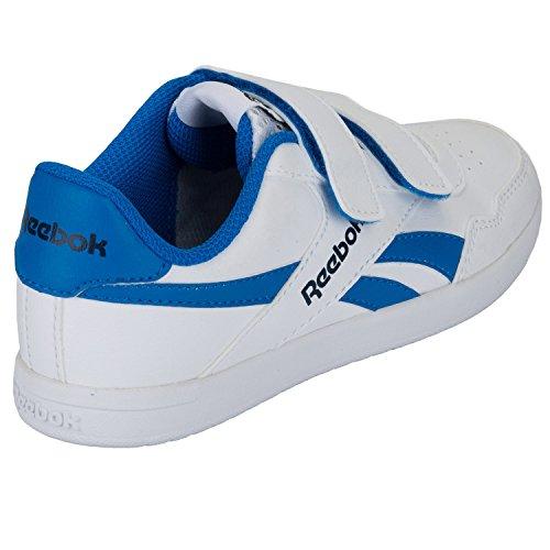 Baskets enfant Reebok Royal Effect Alt pour garçon en blanc et bleu Blanc bleu