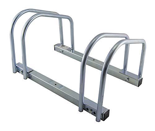 Wurko TT0047 Soporte para Bicicletas, Metal, Cromado, 47 X 27 X 33...