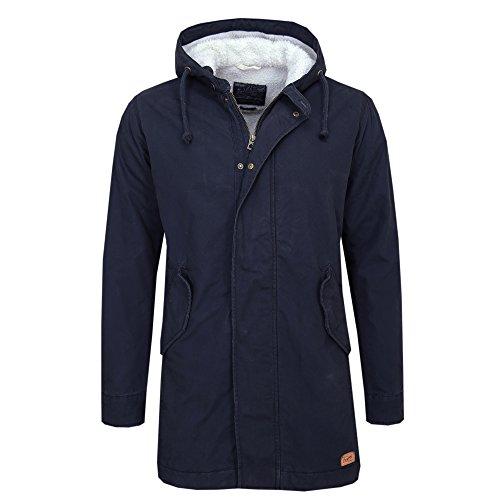 JACK & JONES Jorbenson Parka Jacket-Giacca Uomo    Blau ( Navy Blazer Regular Fit ) L
