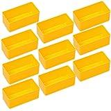 10 Einsatzboxen Allit EuroPlus Insert 45/1 45/2 45/3 45/4 45/5 Industrienorm (Gr. 2 Gelb)