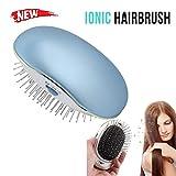 Cepillo de pelo eléctrico iónico portátil para el pelo pequeño, cepillo mágico de belleza, masaje para el hogar o viajes