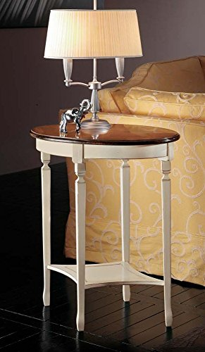 Legno&Design Table Ovale en Bois de Cerisier Massif avec Plan aretes