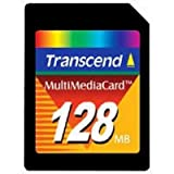 Transcend Multimedia Card (MMC) Speicherkarte 128 MB