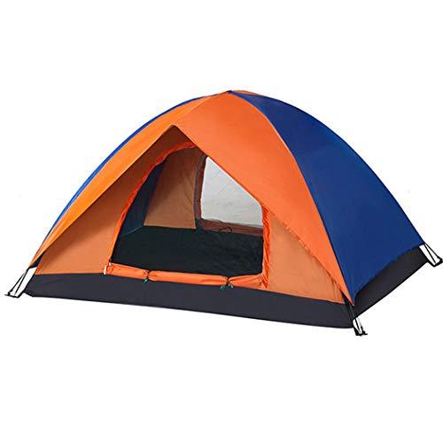 GJFeng 3-4 Personnes Camp Au Bord du Lac en Plein Air Double Couleur Correspondant Au Camp Au Bord du Camping pour Plusieurs Personnes Tente De Camping Portable 200 * 200 * 130mm