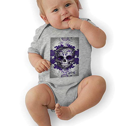 Bodys & Einteiler,Babybekleidung, Baby one-Piece Suit,Baby Jumper,Pajamas, Baby Bodysuit, Sugar Skull Unisex Newborn Infant Bodysuit Baby Clothes