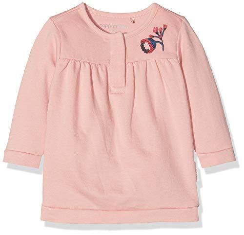 Noppies Baby-Mädchen Kleid G Dress Sweat ls Valmir Rosa (Rose C096), 68