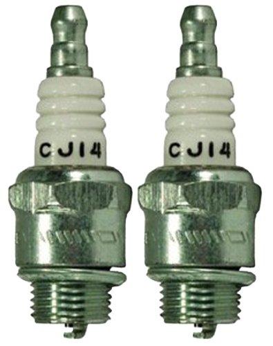 Champion CJ14-2pk Copper Plus Small Engine Spark Plug # 846 (2 Pack) - Champion Small Engine Spark Plug