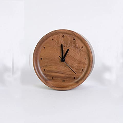 black orologio noce/Orologio moda minimalista moderna/ Orologi