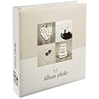 WEB2O Album Photo Grand Format - 500 Photos - 10x15 cm - Collection Papillon