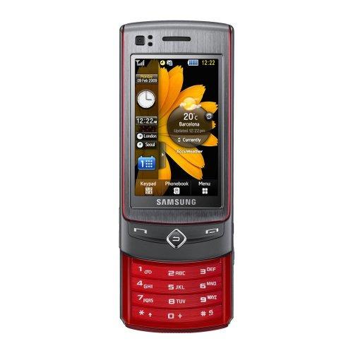 Samsung S8300 UltraTOUCH Handy (2.8'' Touchscreen AMOLED, 8 MP-Kamera, UMTS/HSDPA) platinum red
