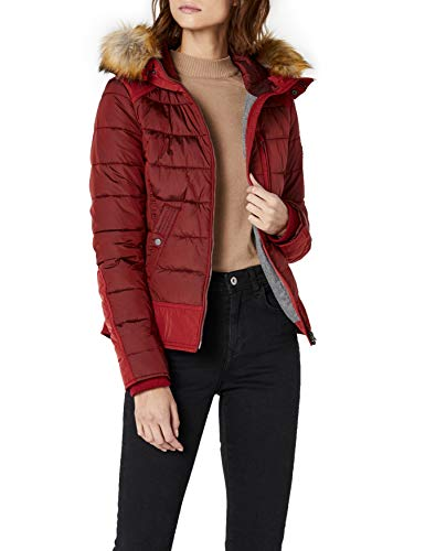 93871d2ab0 Camel Active Womenswear 330280 - Blouson Femme - Rouge (Red 50) - 42