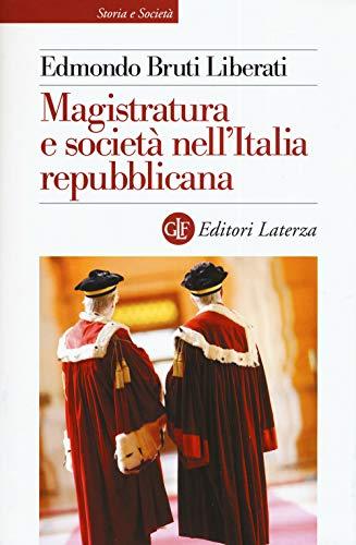 Magistratura e società nell'Italia repubblicana