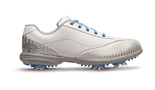 Callaway Halo Pro Chaussures de Golf pour Femme, Blanc/Bleu