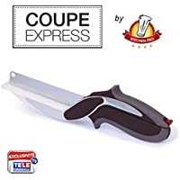Kitchen Pro–taglio Express 2en1l' original, l' utensile di cucina ideale per tagliare, affettare e tagliare in un momento tutta le vostre Preparazioni.