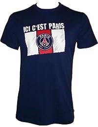 T-shirt PSG - Collection officielle PARIS SAINT GERMAIN - Football club Ligue 1 - Taille enfant garçon
