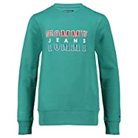 Tommy Hilfiger sweatshirt for boys in Turquoise Green, Size:10-11years