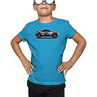 Billion Group   Japan Concept   Fast And Furious Motor Cars   Boys Classic Crew Neck T-Shirt Blue Large