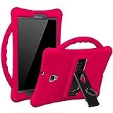 Armera Galaxy Tab A 8.0 (2017) - Silikon Hülle/Case / Cover für Kinder für Samsung Galaxy Tablet A 8 SM-T380 / T385, robust, stoßfest, Perfekter Schutz (Magenta)