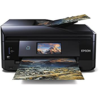 Epson Expression Premium XP-830 Tintenstrahl-Multifunktionsdrucker (Scanner, Kopieren, Fax) schwarz