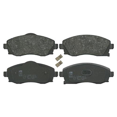 Preisvergleich Produktbild febi bilstein 16423 Bremsbelagsatz (vorne, 4 Bremsbeläge), mit akustischer Verschleißwarnung
