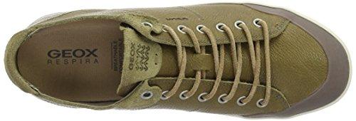 Geox  U Smart E, Sneakers Basses homme Vert (Muskc3704)