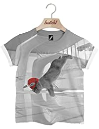Batch1 Sport Relief Diving Bunny All Over Print Red Nose Boys Girls Kids T-Shirt
