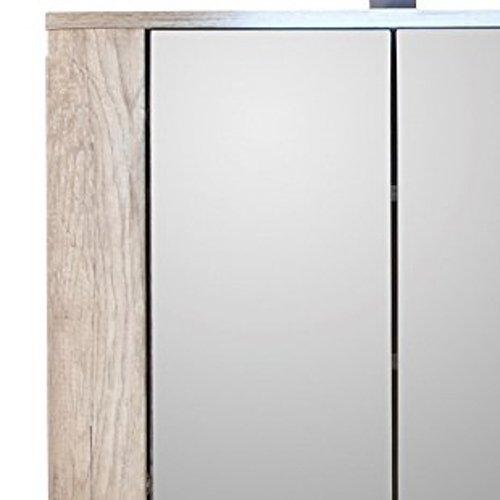 Badspiegelschrank Eiche – 70 cm - 4