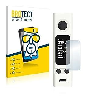 BROTECT Premium AirGlass Film de Protection en Verre Joyetech eVic VTwo Mini (extrêmement résistant, Ultra-Fin, Haute Transparence, revêtement Anti-Traces de Doigts, Application sans Bulles d'air)