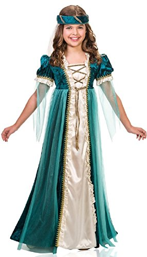 Goddessey Emerald Juliet Child Costume - Goddessey Kostüm
