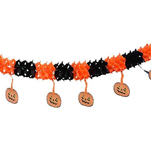 VEMOW Heißer Happy Halloween Party Dekoration Flagge Haushalt Kinderzimmer Dekoration Terror Liefert(A, ()