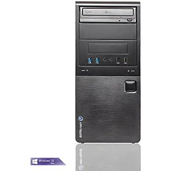 Ankermann Business-PC Silent Office | AMD A6-6420K | Windows 10 Professional 64Bit | ATI Radeon HD8470D 1GB | HDMI-DVI-VGA | 8GB Crucial RAM | 2TB HDD | Arbeitsplatz Büro Desktop Computer | DVD-Brenner | USB 3.0 | EAN 4260219650236