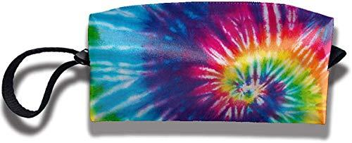 NA Abstrait Swirl Tie Dye Voyage Maquillage Sac Cosmétique Sacs Trousse De Toilette Pochette Pochette Multi-Usage Organisateur Sac