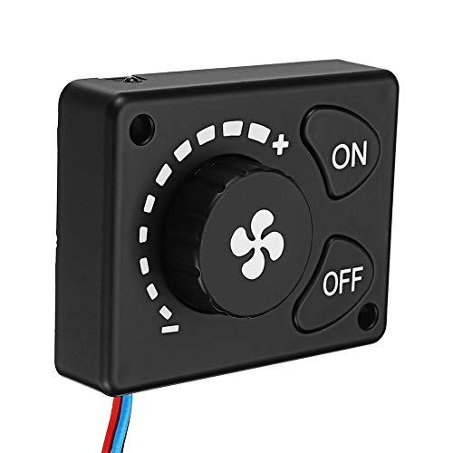 Bouton de contrôle manuel pour voiture avec fonction de réglage de l'heure, noir