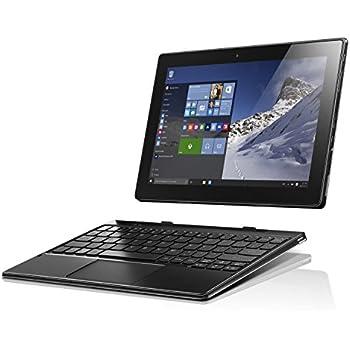 Lenovo Miix 310 25,4 cm (10,1 Zoll HD IPS Touch) Convertible Tablet-PC (Intel Atom Z8350, 4GB RAM, 64GB eMMC, Windows 10 Home) silber