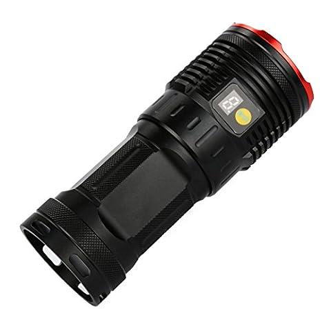 Somesun Supwildfire 16000lm 7x XM-L T6LED d'alimentation et mode Affichage digital de chasse lampe de poche