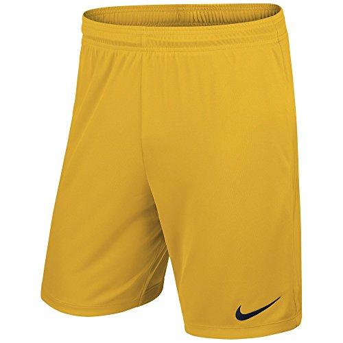 Nike Kinder Park II Knit Shorts mit Innenslip University Gold/Black, M