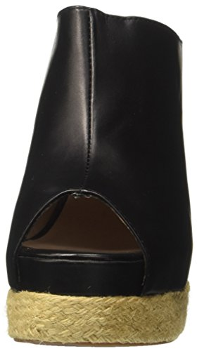 Jeffrey Campbell Damen Virgo Leather Pumps Schwarz