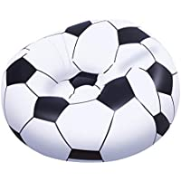 Bestway 75010 Fauteuil gonflable ballon de football Up In & Over 114 x 112 x 66 cm