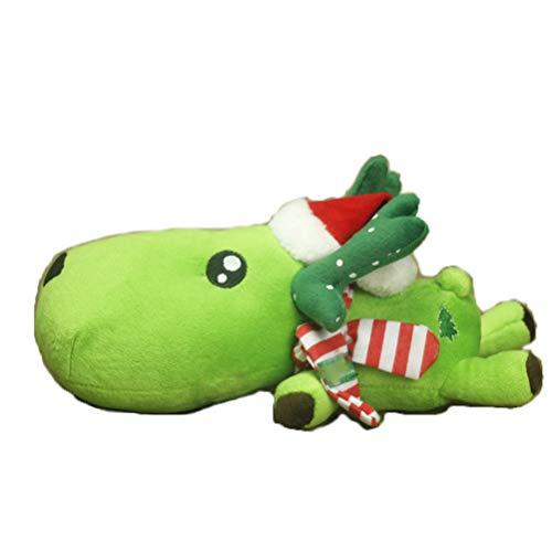 Naturalmente carbón de bambú bolsa de carbón de Navidad ciervos -Aire ambientador desodorante, sin perfume ambientador de aire del coche, coche de la decoración de Navidad