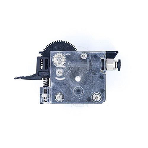 TEVO 1 StückTitan-Extruder Komplettpaket mit NEMA 17-Schrittmotor für 3D Drucker, geeignet für Direct-Drive und Bowdenzug-Befestigungsschellen, 1 (Titan-Extruder + Schrittmotor) -