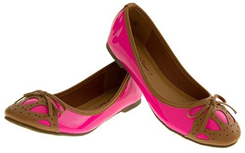 Footwear Studio , Ballet femme Rose - rose