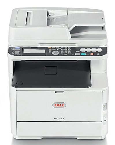OKI MC363dn LED A4 Color blanco - Impresora multifunción (LED, Colour printing,...