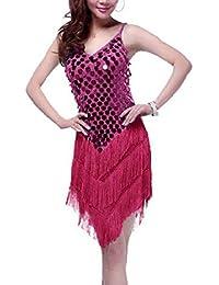 Travelday® Mujeres sling fringed spangly vestido de danza