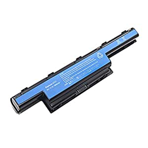 Levipower Batterie d'ordinateur portable [11.1V/7800mAh/Li-ion] remplacement pour Acer Aspire 5250,5251,552,5253,5336,5349,5749,5551,5560,5733,5736,5741,5742,5750,5755,7551,7552,7560,7741,7750 Series